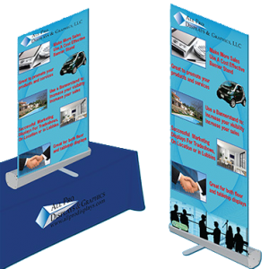 Trade Show Banner Stands from All Pro Displays & Graphics