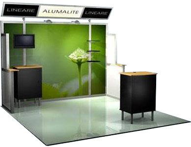 61-ABX-AL-7 LINEARE Alumalite Display