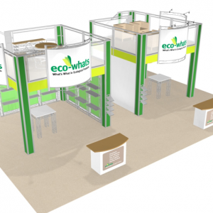 30X40 trade show booth